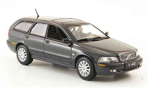 volvo  anthrazit  minichamps diecast model car