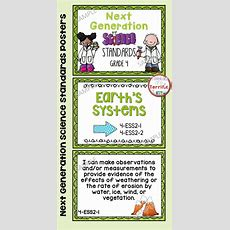 Next Generation Science Standards Posters For 4th Grade (ngss