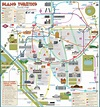 Map of Madrid tourist attractions, sightseeing & tourist tour