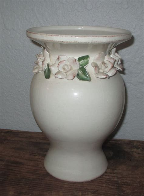 shabby chic pottery 17 best images about household decor on pinterest blue and white glass vase and vase