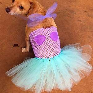 mermaid dog costume halloween dog costume dog mermaid dog With robe pour chien