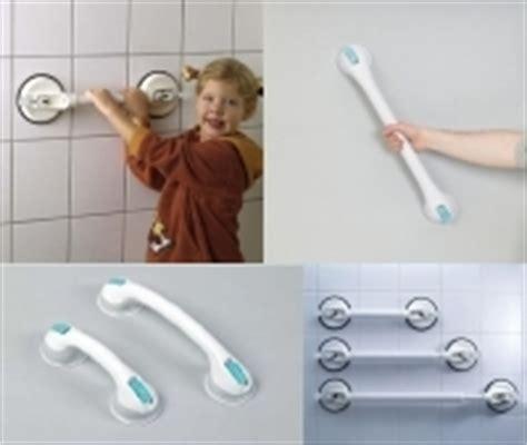 barres d appui a ventouses pour la salle de bain