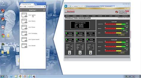 FactoryTalk View Site Edition Human Machine Interface Software