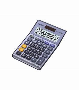 Calculatrice De Bureau Casio MS 120TER II AUBUREAU