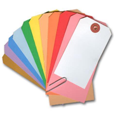 colored tags blank hang tags manila colors paper vinyl tyvek