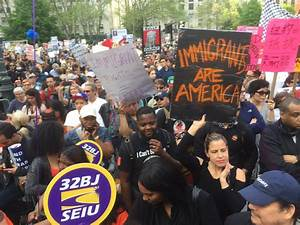 Thousands Rally to Support International Workers' Day and ...