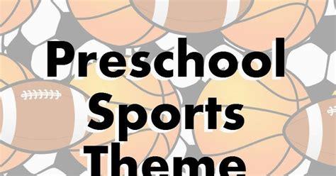 sports theme preschool lesson preschool powol packets 724 | preschool sports theme