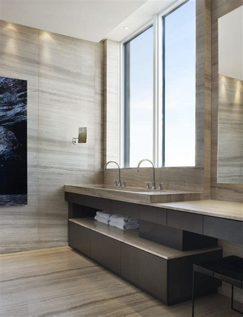 Modern Bathroom Fixtures Toronto by A Stunning Penthouse In Toronto Interior Design By