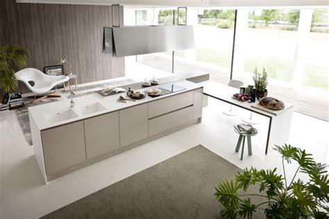 petit ilot central cuisine cuisine design design feria