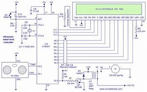 Ultrasonic Water Level Controller Using 8051