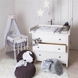 Kommode Für Kinderzimmer : xxl wickelaufsatz 108cm f r ikea hemnes kommode von puck daddy auf kinderzimmer ~ Buech-reservation.com Haus und Dekorationen