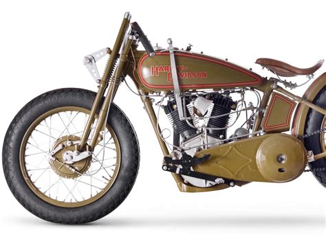 Harley-davidson Model Jdh 'two Cam' Racer