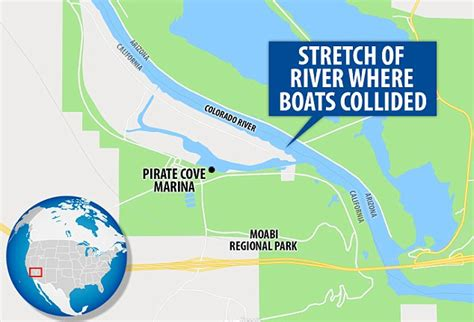 Boat Crash Colorado River Victims by 13 Hurt And Four Missing After Colorado River Boat Crash