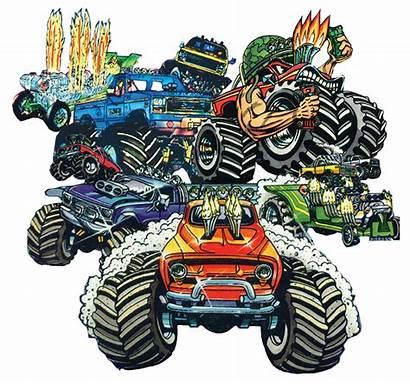 Monster Trucks Lots Truck Rat Dvd Fink
