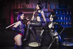 Rogue, Psylocke, and Domino meet in Deadpool game ...