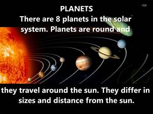 MEANING OF PLANET AND SOLAR SYSTEM - YouTube