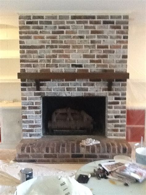 whitewash brick fireplace whitewash brick studio design gallery best design