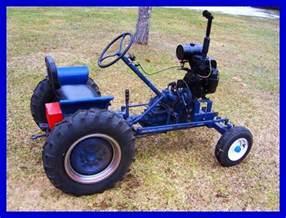 Home Built Garden Tractor Attachments