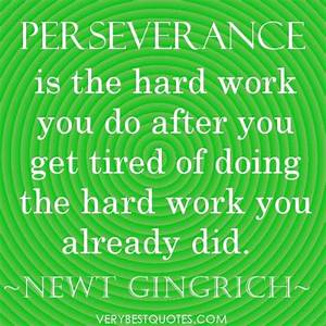 Motivational Quotes About Persistence. QuotesGram