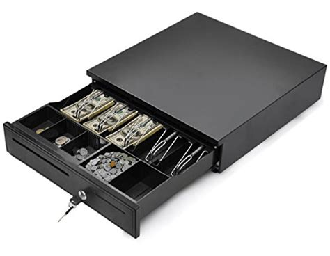Tangkula Cash Register Drawer Box Portable Money Lock Storage 8 Drawer Dresser With Mirror Craft Storage Drawers Countertop Makeup Organizer How To Measure Slides Folding T Shirts For Sub Zero Wine Cooler Queen Bed Frame Cash And Receipt Printer