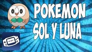 Pokémon Sol y Luna para My Boy! GBA - YouTube