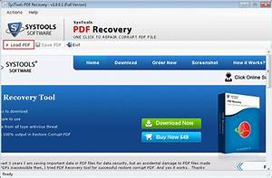 adobe pdf recovery tool repair corrupt and damage pdf files With pdf document recovery