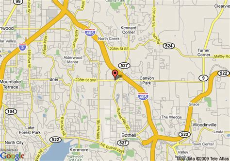 map  extended stay america seattle bothell bothell