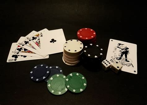 Playing Cards Poker Chips Lot Free Image Peakpx