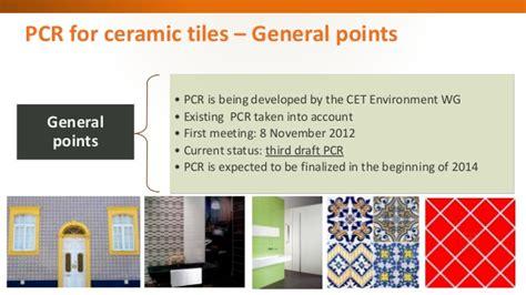 quot cet product category for ceramic tiles quot