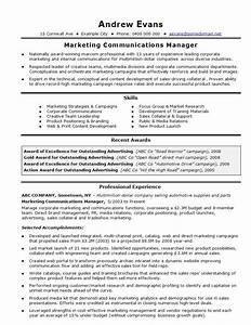 21 perfect marketing resume templates for every job seeker With cv template for marketing job