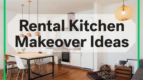 8 rental kitchen makeovers under 100 sarah jullion real