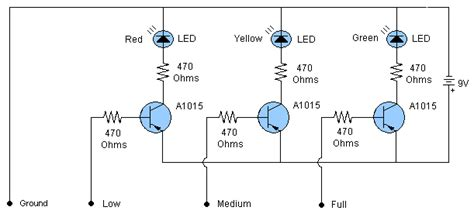 Water Level Indicator Sensor Circuit Free Electronics