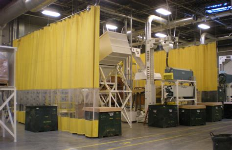 industrial safety curtains screens plastic safety