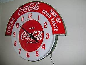 17 Best images about Coca Cola Clocks on Pinterest