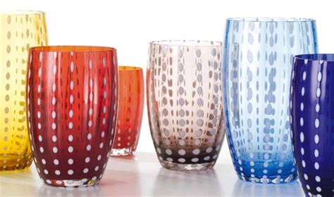 Bicchieri Zafferano by Home Lo Scrigno Amalfi Coast Emotional Boutique