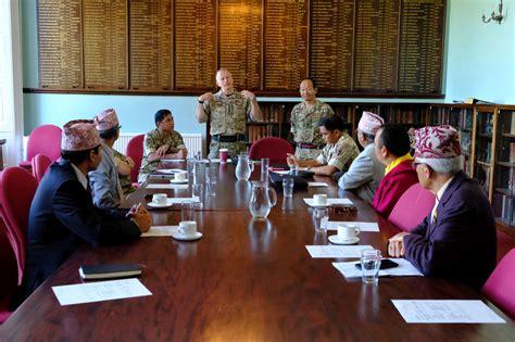 headquarters brigade  gurkhas holds religious leaders