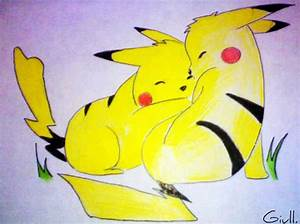 The gallery for --> Happy Pikachu Hug