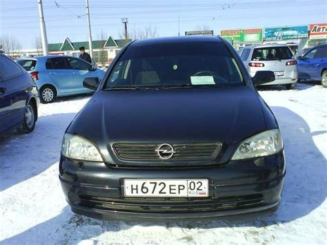 1998 Opel Astra Pictures, 1.5l., Gasoline, Ff, Manual For Sale