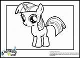 Pony Coloring Twilight Sparkle Sheets Colouring Horse Coloring99 Colors Ponies Mlp Printable sketch template