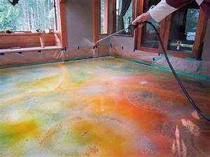 17 best images about staining coloring concrete on With how to sand concrete floor