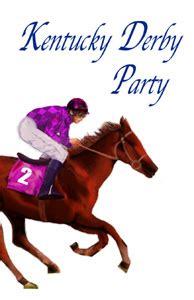kentucky derby party invitations custom designed  artist