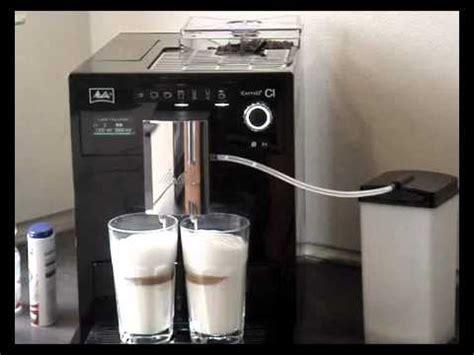 caffeo melitta melitta caffeo ci 2 latte macchiato