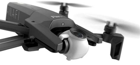parrot anafi folding  hdr drone flies   minutes arrives  july djis   drones