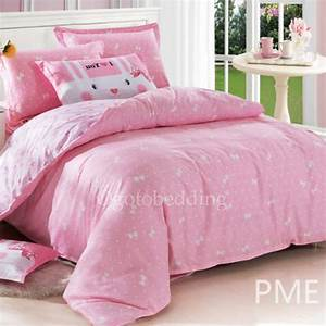 Affordable Cute Baby Pink Patterned Kids' Bedding Sets For s [OET0714102]  $78 99