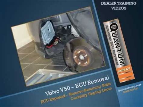 volvo  ecu removal opening youtube