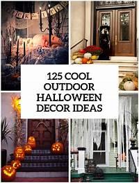 fine halloween home design ideas 125 Cool Outdoor Halloween Decorating Ideas - DigsDigs