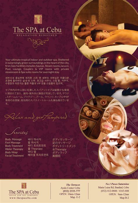 spa  cebu magazine ads graphic designer graphic