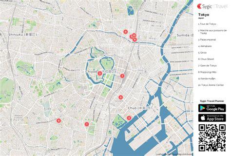 Carte De Touristique à Imprimer by Tokyo Carte Touristique Imprimable Sygic Travel
