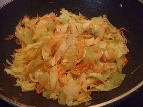 les meilleures recettes de chou blanc  carottes