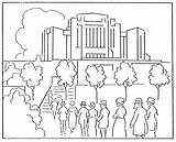 Temple Coloring Pages Lds Stampylongnose Synagogue Mormon Lake Salt Irvine Building Rebecca Getdrawings 1923 August History Canada Template Getcolorings sketch template